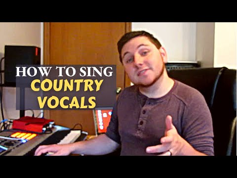 Tips on how to sing country music!