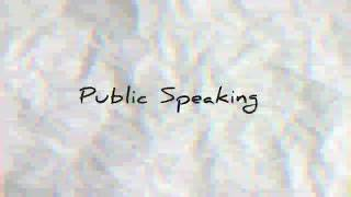 Public Speaking | The Importance of Living Healthy