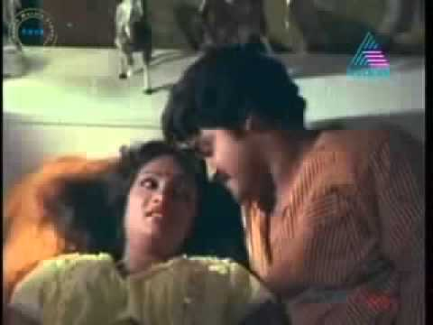 anuradha with mohanlal on bed