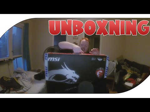 Unboxning MSI AG240 2PE - (All In One)