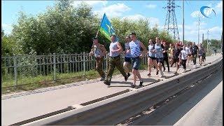 Десантники отметили день ВДВ митингом и пробежкой