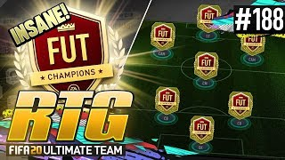 INSANE NEW FUT CHAMPS SQUAD! - #FIFA20 Road to Glory! #188! Ultimate Team