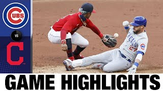 Heyward, Lester lead Cubs to 7-1 win | Cubs-Indians Game Highlights 8/11/20