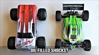 WLToys A979-B vs WLToys A959-B: Comparison, Damage Report, Shock and Maintenance Tips!