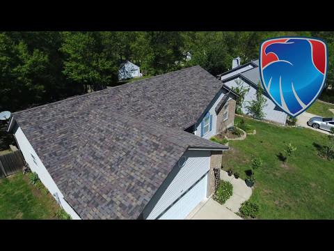 Warrenton MO new architectural shingle project. We replaced this roof after storm damage destroyed the previous roof. The home owner was really excited about how their new roof turned out.
