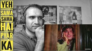 Yeh Sama, Sama Hai Ye Pyar Ka - Shashi Kapoor - Nanda | ReactionCheck