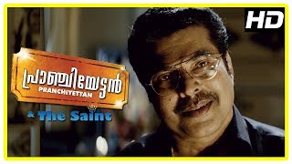 Pranchiyettan & the Saint Scenes | Title Credits | Mammootty recollects past to St Francis