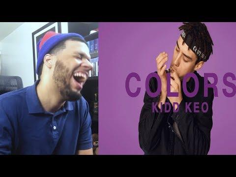 Kidd Keo - Foreign A COLORS SHOW - Reaccion a Trap De España! Kidd Keo Foreign reaccion