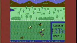 1988 Artworx Daily Double Horse Racing C-64 Version
