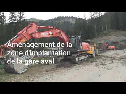 La construction du TSD6 de Pierre Longue à Châtel au 26/09/2018