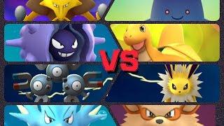 Cloyster  - (Pokémon) - Pokémon GO Gym Battles Level 7 Gym Jolteon Vileplume Marowak Cloyster Seadra & more