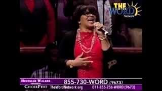 "Lisa Page Brooks Singing ""His Blood Still Works"" - Hezekiah Walker's Choir Fest"
