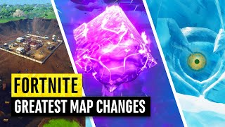 Fortnite | Greatest Map Changes EVER!