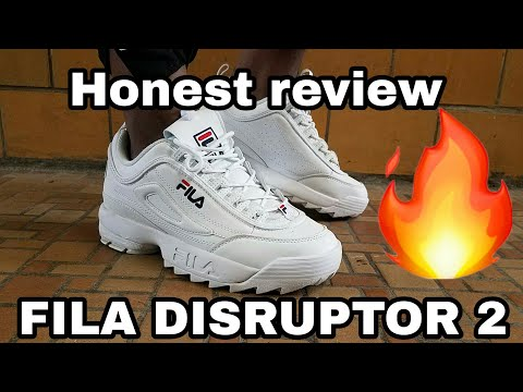 fila disruptor 2 review/Try on
