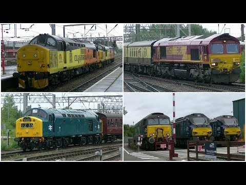 Crewe Railway Variety - Station, Salop and Gresty Bridge 10t…