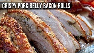Crispy Pork Belly Bacon recipe by the BBQ Pit Boys