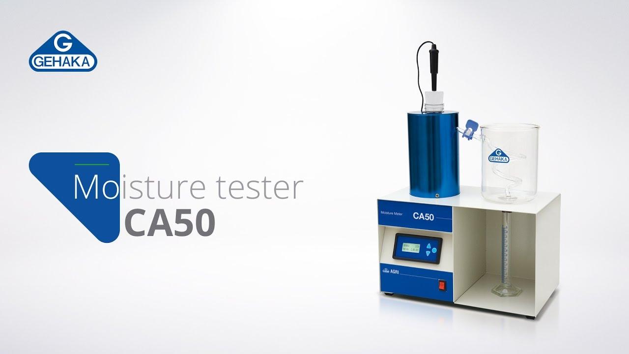 Video de demonstração do CA50