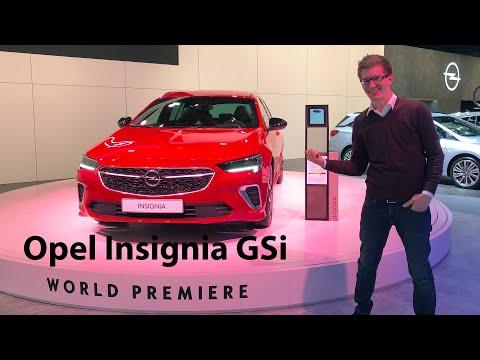 GSi is Back! Der neue Opel Insignia GSi mit brandneuem Turbo-Benziner - Autophorie