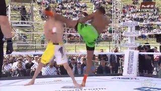 """Эдвард """"Ниндзя"""" Мейси наглухо нокаутировал Мате Саникидзе на M-1 Challenge 95!"""