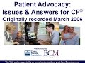 CF Foundation | Patient Advocacy Issues and Answers for CF for School and Employment