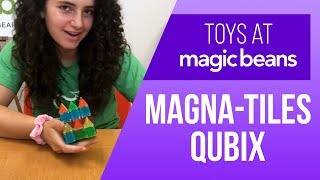 First exclusive look at the NEW Magna-Tiles Qubix! (unboxing and testing) 🔶🔺🔷