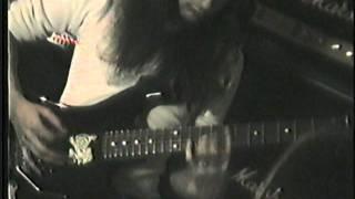 EVILDEAD Rehearsal- El Sereno, CA. 1988- Process: Elimination