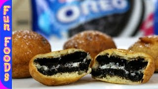 Deep Fried Oreo's | How to Deep Fry Oreo Cookies