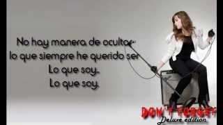 13) Lo Que Soy / This is Me -Spanish Version- (Bonus Track) - Demi Lovato (Lyrics)