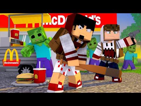 Minecraft: UM McDonald's no APOCALIPSE Ep.02 ‹ AMENIC ›