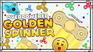 ⭐ OVERPOWERED GOLDEN FIDGET SPINNER | NUMBER ONE PLAYER -- FidgetSpinner.io | Spinz.io Game