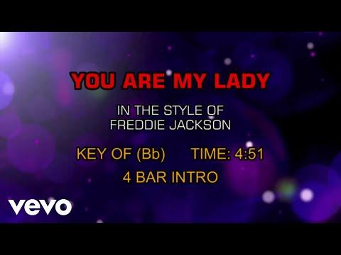 Freddie Jackson - You Are My Lady (Karaoke)
