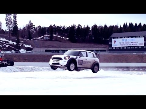 Stig Vs Team Norway: Winter Rally Challenge – BBC Brit launch in Norway | Top Gear