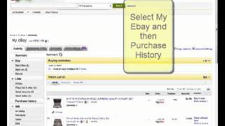 How to request a refund or exchange on ebay