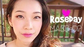 로즈데이를 위한 메이크업 Roseday make up