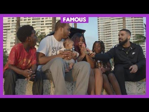 Veel ❤️ voor Drake door zijn nieuwe clip God's Plan