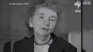 PJTV -- Forgotten Newsreel History: Margaret Sanger Declaring 'No More Babies'