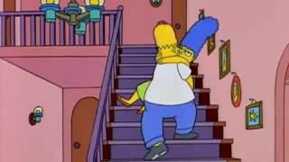 Que crees que estarán haciendo papa y mama | Los Simpson