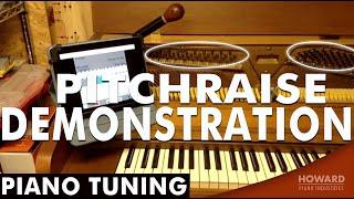 Piano Tuning - Pitchraise Demonstration