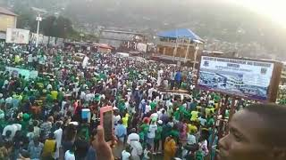 Freetown Welcomes The General
