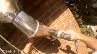 Промальп. Мотаж водосточных труб.