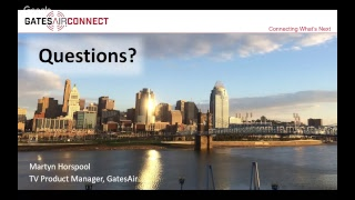 TV Transmitters: Experience Ease of Ownership | GatesAir Connect Webinar