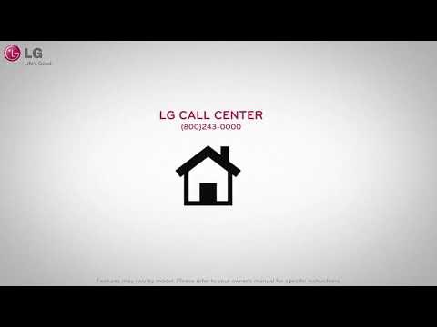 LG Freestanding Washing Machine F4V308WNW - White Video 1