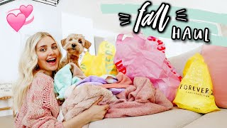 FALL CLOTHING HAUL! Cute & Comfy Outfits | Aspyn Ovard