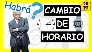 Cambio De Horario 2019 En México