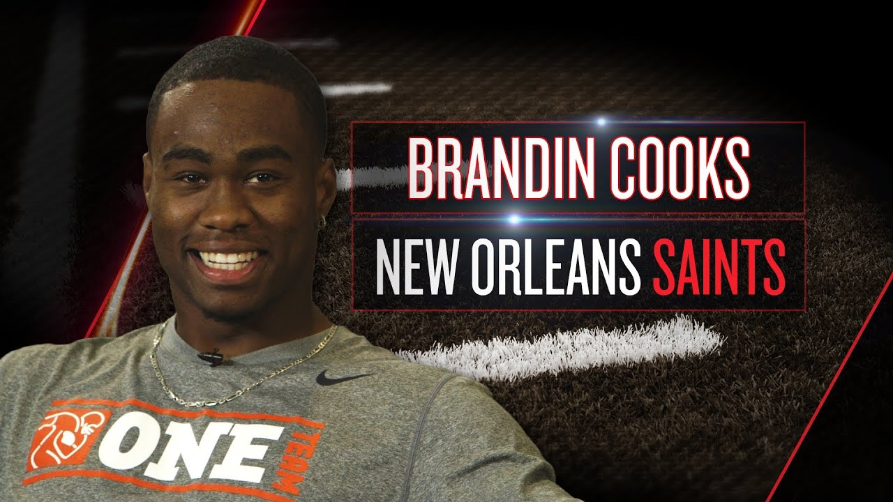 Brandin Cooks on new Saints role, playbook, Drew Brees (2014 NFLPA Rookie Premiere) thumbnail