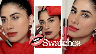 LOréal Paris Rouge Signature Lipstick *SWATCHES* | Review | Malvika Sitlani