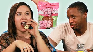 Americans Try British Snacks For The First Time