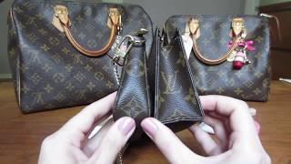SLG Comparison | Mini Pochette Vs Toiletry Pouch 15 | Louis Vuitton