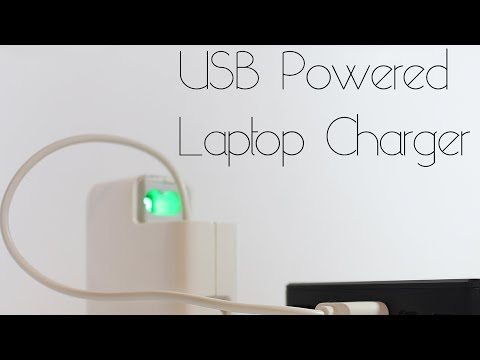 USB Powered macbook air charger