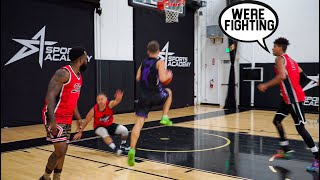2HYPE Was Talking Sh** Then Got EXPOSED BAD! 5v5 Basketball!